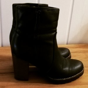 Graceland Winter Booties black-dark brown