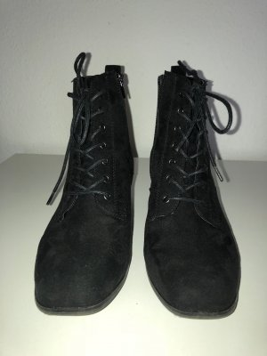 Graceland Lace-up Booties black