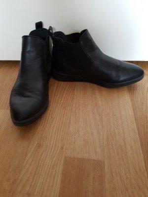 Schwarze Stiefeletten / Chelsea Boots, 37