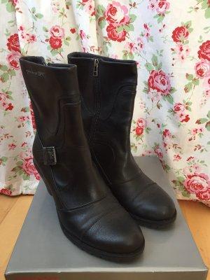 Esprit Booties black imitation leather