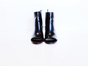 H&M Stivaletto spuntato nero-marrone