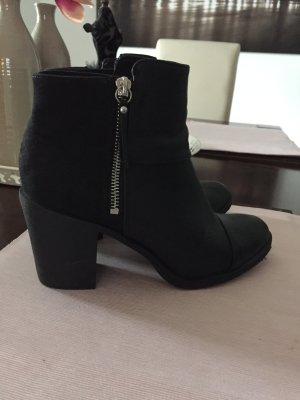 Schwarze Stiefeletten von H&M Größe 39