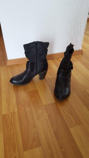 schwarze Stiefeletten von S.Oliver