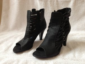 schwarze Stiefelettenpumps, Größe 37, *NEU*