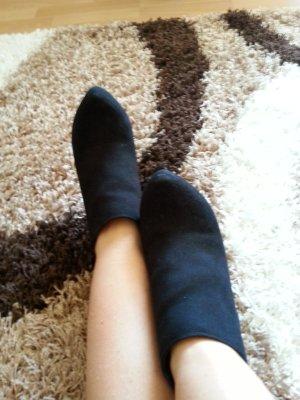 Schwarze Stiefelletten Graceland