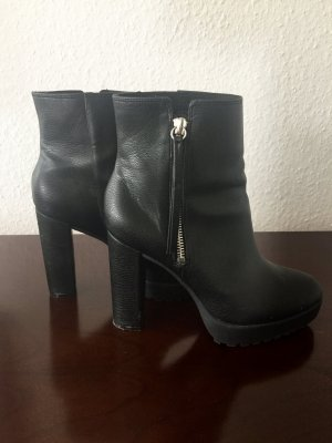 H&M Low boot noir faux cuir