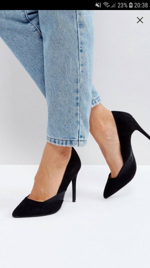 Schwarze Stiletto PUMPS