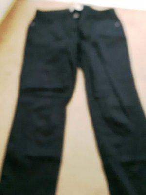 Schwarze Stoffhose gr. 18