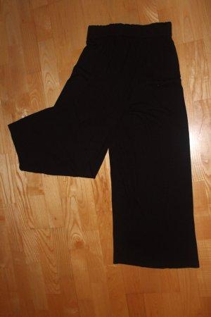 Schwarze Stoffhose - Größe XS