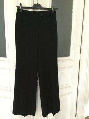 Pantalone Marlene nero Tessuto misto