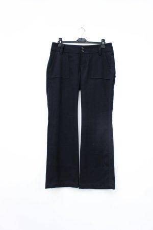 Schwarze Stoffhose von Cinque in Größe 40