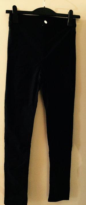 Schwarze Stoffhose von H&M