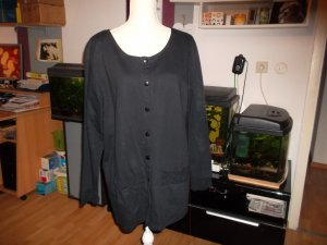 Blouse Jacket black cotton