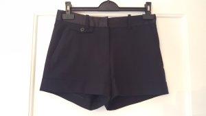 Schwarze Stoffshorts von Zara Größe 34
