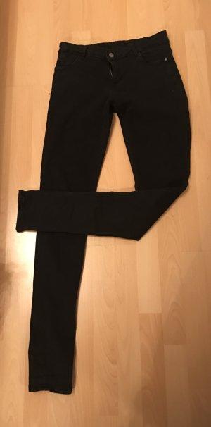 Schwarze Stretch-Hose (Gr. 38)