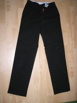 Schwarze Stretch Hose von Tommy Hilfiger Gr. 34