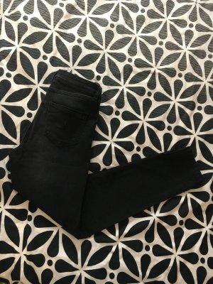 Schwarze stretch Hosen