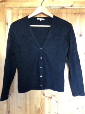 Allude Giacca in maglia nero Cachemire