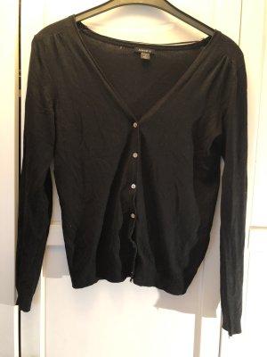 Amisu Giacca in maglia nero
