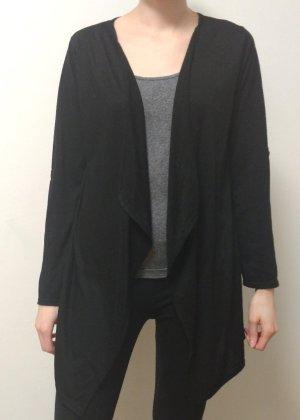 Amisu Veste en tricot noir