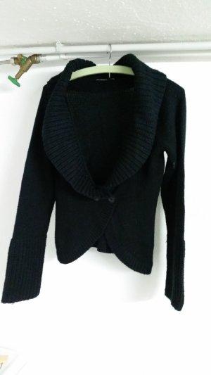 Veste en tricot noir
