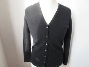 Lecomte Cardigan black wool