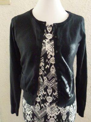 Schwarze Strickjacke/ Cardigan von H&M in Gr. S
