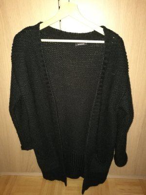 Schwarze Strickjacke / Long Cardigan
