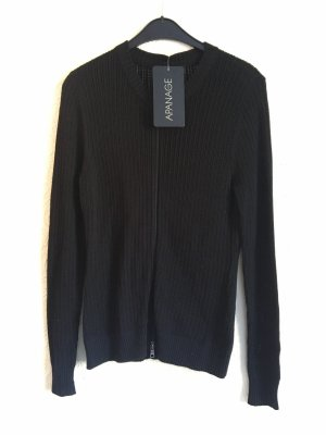 Apanage Giacca in maglia nero