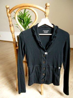 Marc Cain Cardigan tricotés noir coton