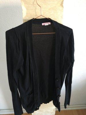 schwarze Strickjacke von SUPRÉ