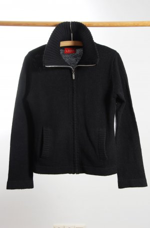 schwarze Strickweste von H&M