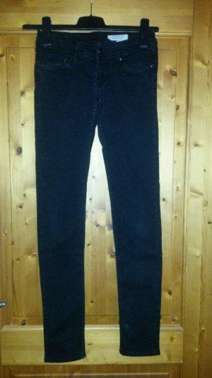 Schwarze Super skinny Jeans