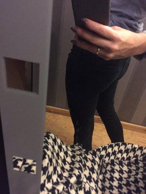 Schwarze super skinny Jeans Größe 38