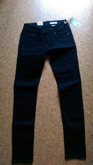 Schwarze Super Sqin Jeans