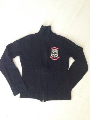 Schwarze super weiche Jacke aus Viskose Gr. XS