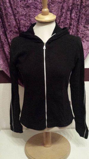 schwarze Sweat Jacke von Madonna, Gr. M