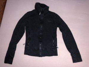 Bench Chaqueta de tela de sudadera negro