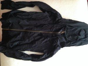 Schwarze Sweatshirtjacke