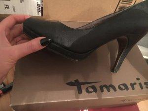 Schwarze Tamaris Heels