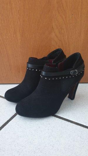 Tamaris Chaussure à talons carrés noir