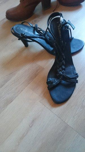 Schwarze Tamaris Sandalen