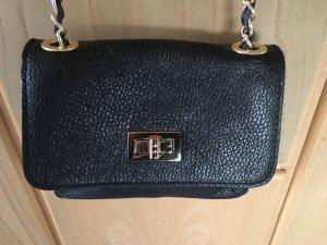 Shoulder Bag black-gold-colored