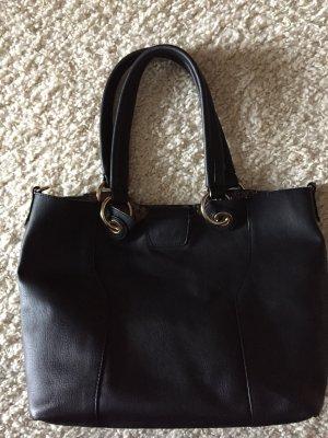 Schwarze Tasche aus Italien