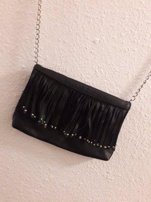 H&M Borsa con frange nero