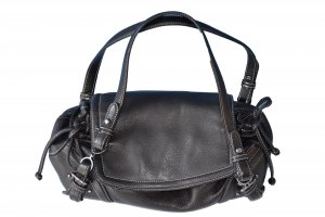 Boss Hugo Boss Carry Bag black leather