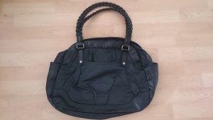 schwarze Tasche Schultertasche