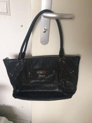 schwarze Tasche Shopper Guess