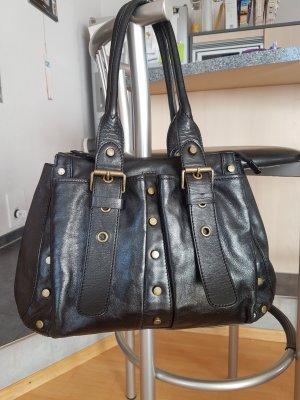 Schwarze Tasche von Coccinelle