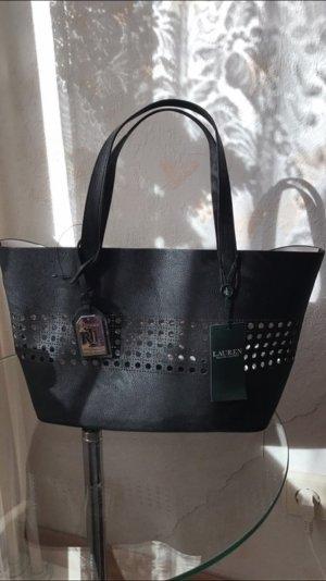 Schwarze Tasche von Ralph Lauren
